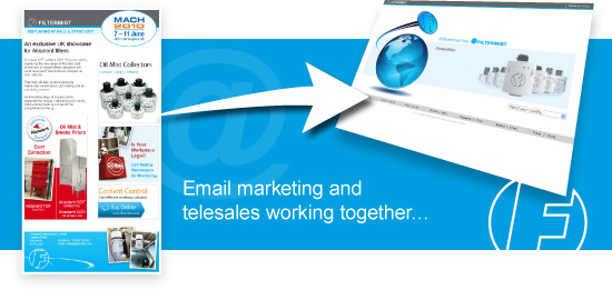Email marketing and telesales working together…
